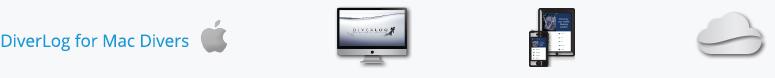 DiverLog for Mac Divers