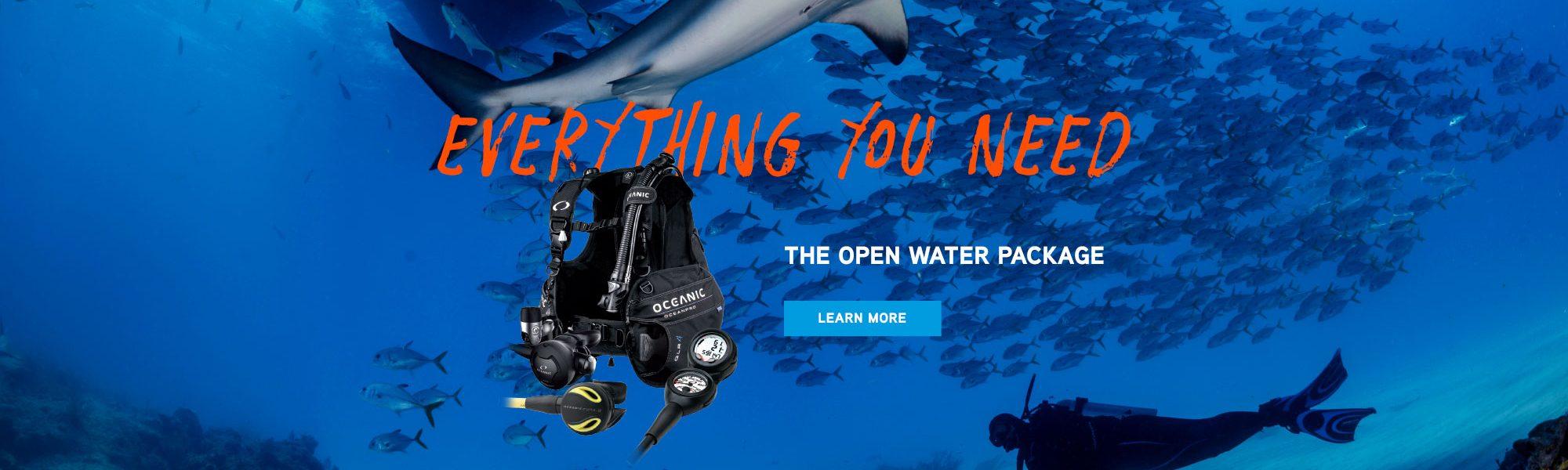 Open Water Package