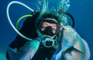clean your scuba regulator